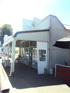 The French Baker Greytown cafe outside